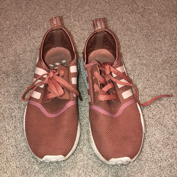 adidas Shoes - Adidas NMD R1 Burgundy Pink Red Women's